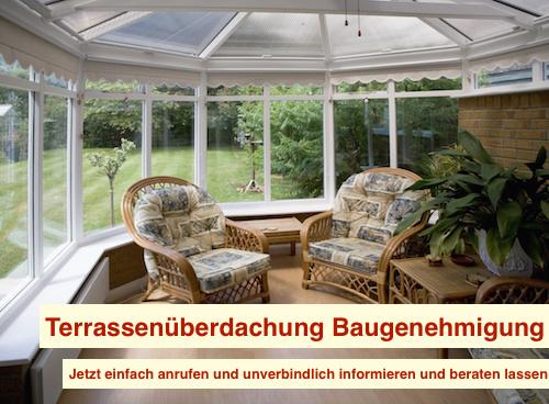 Terrassenüberdachung Baugenehmigung Berlin