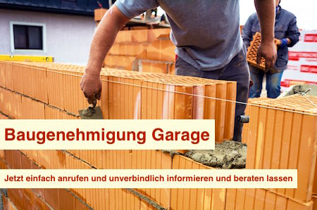 Baugenehmigung Garage Berlin