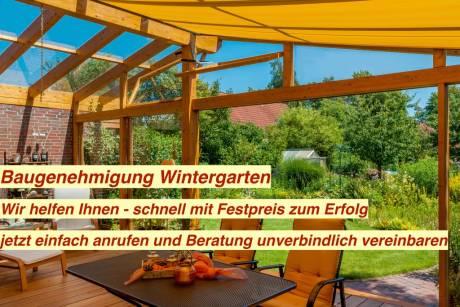 Baugenehmigung Wintergarten
