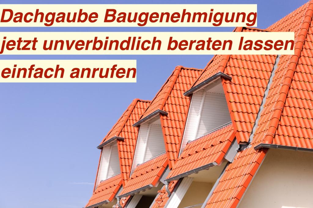 Baugenehmigung Dachgaube Berlin